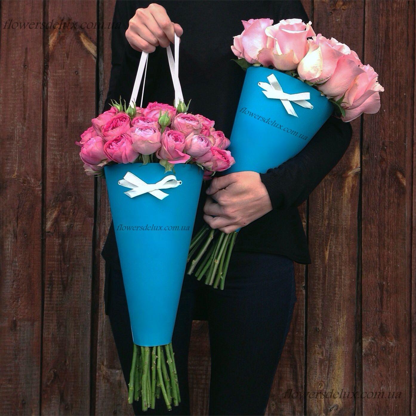Цветы в пакете своими руками 22