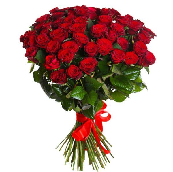101 роза 80см