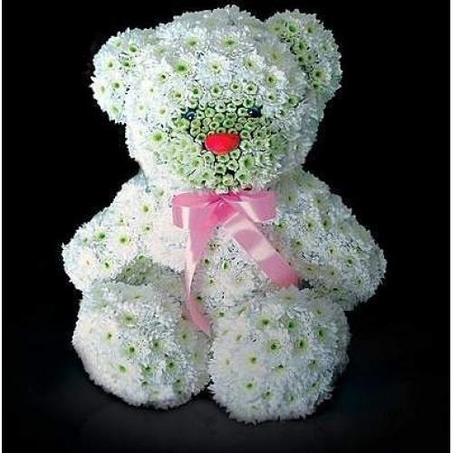 Цветочный медведь
