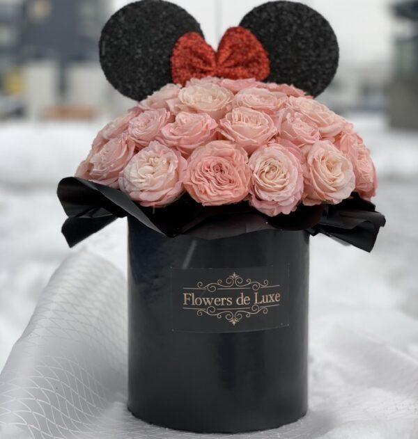 минни маус цветы
